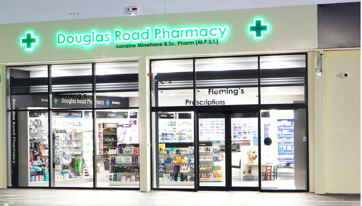 Douglas Road Pharmacy Cork interior