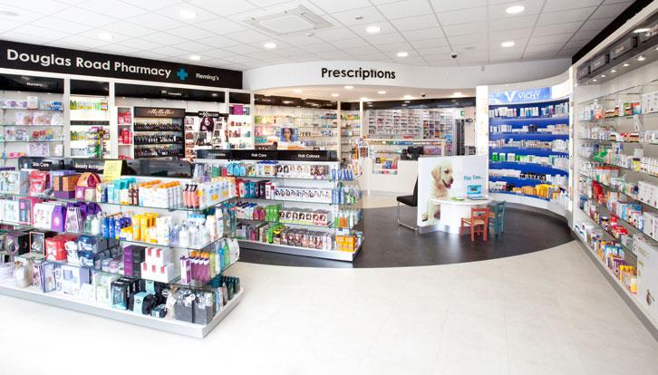 Douglas Road Pharmacy Cork interior